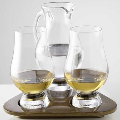 THE GLENCAIRN GLASS - 2 szklanki i dzbanek do whisky